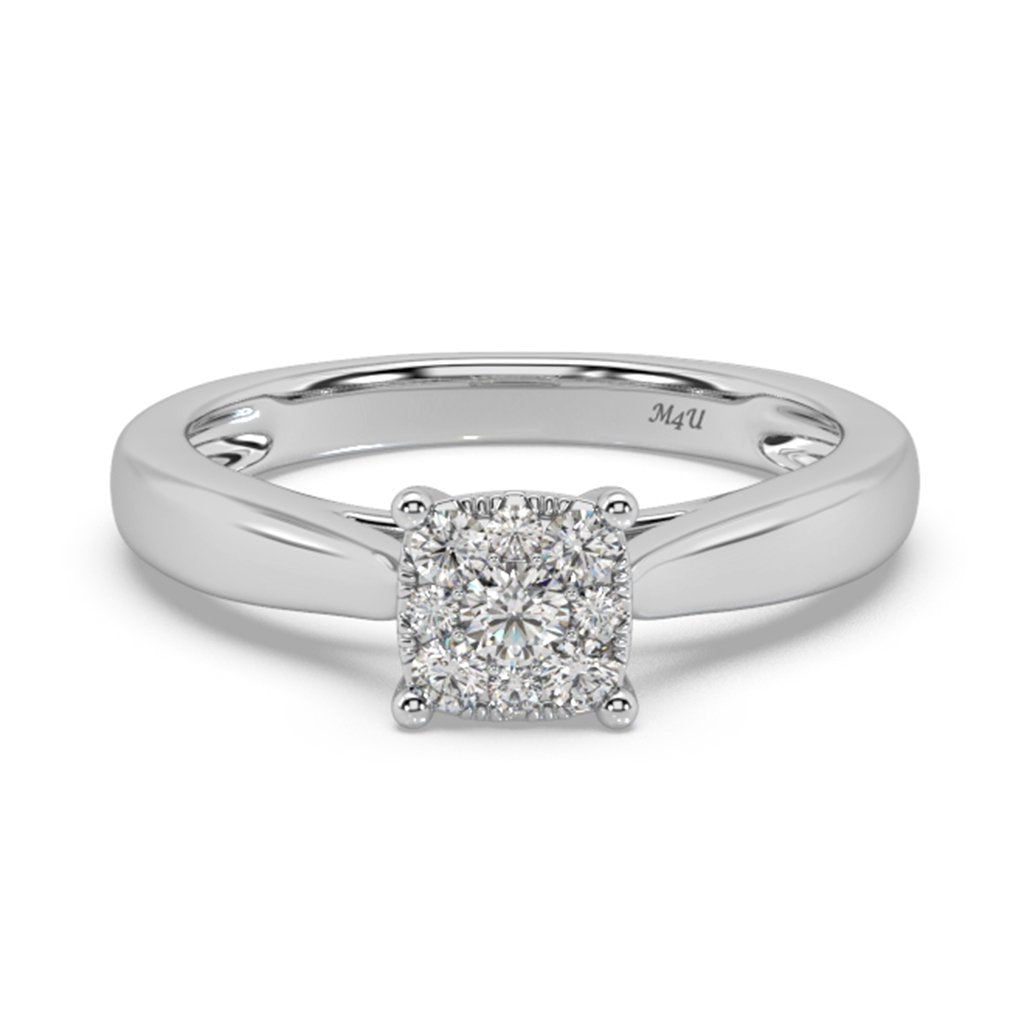 Patrona Lab Diamond Ring